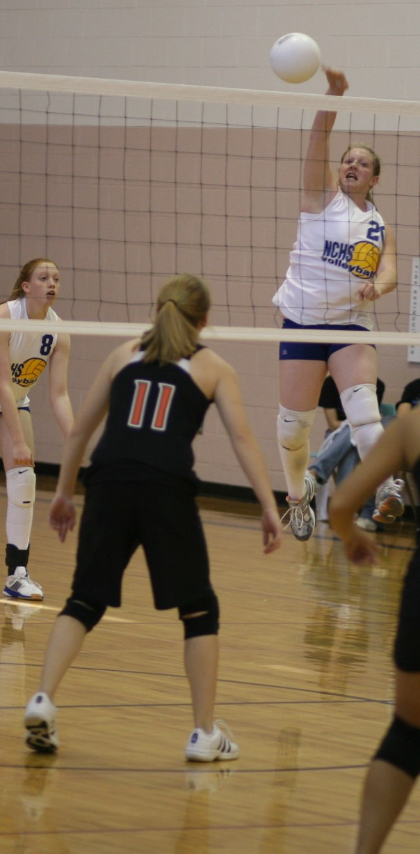 Hayli Bozarth during the 2006 MCL volleyball tournament